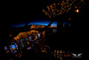 Climbing to 35,000ft, my fisheye lens makes the cockpit look bigger than it really is (gc232) Tags: boeing 737 cockpit b737 b737800 737ng 737800 livefromtheflightdeck golfcharlie232 live from flight deck instruments fisheye wide view canon tokina 10mm fly pilot aviation plane travel