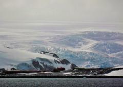 King George Island, South Shetland Islands. (Ruby 2417) Tags: south shetlands antarctica island glacier base coast sea oceann ice snow white