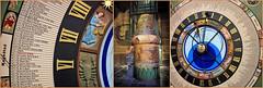 Horloge astronomique et au centre la décoration de l'ascenseur menant au clocher de l'église Saint-Jacob, Jheronimus Bosch Art Center, S'Hertogenbosch, Brabant-Septentrional, Pays-Bas (claude lina) Tags: claudelina canon paysbas hollande holland nederland brabantseptentrional shertogenbosch boisleduc jérômebosch jheronimusboschartcenter horloge clock horlogeastronomique ascenseur