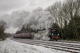 Smoky snowy Southern Santa