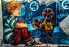 CINE DE VERANO (Carlos Lope) Tags: cine verano grafitti