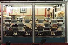 masakan Padang, Jakarta, Indonesia (Plan R) Tags: dish window padang jakarta restaurant cafe evening leica m 240 noctilux 50mm