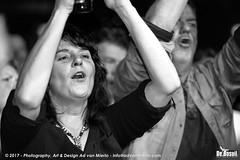 2017 Bosuil-Het publiek bij Joost de Lange en Band Of Friends 30-ZW