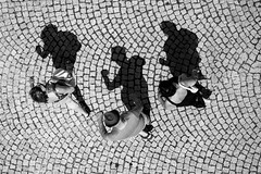Inseparably (CoolMcFlash) Tags: highangleview aerial perspective shadow street streetphotography people candid fujifilm xt2 walking burgenland rust perspektive schatten strase personen fotografie photography xf 18135mm f3556 r lm ois wr