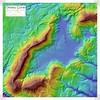 Map of Grassy Cove, Cumberland County, Tennessee (Chuck Sutherland) Tags: grassycove sinkhole karst geology sandstone limestone subsidence geomorphology elevation map cumberlandplateau sequatchievalley anticline esri arcmap