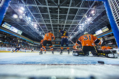 "Kansas City Mavericks vs. Colorado Eagles, December 17, 2017, Silverstein Eye Centers Arena, Independence, Missouri.  Photo: © John Howe / Howe Creative Photography, all rights reserved 2017. • <a style=""font-size:0.8em;"" href=""http://www.flickr.com/photos/134016632@N02/39138174131/"" target=""_blank"">View on Flickr</a>"