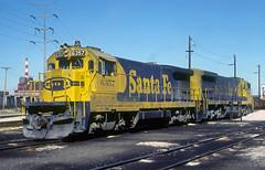 AT&SF B23-7 6357 (Chuck Zeiler) Tags: atsf b237 6357 railroad ge locomotive corwith chicago chuckzeiler chz