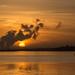 Sunrise on the Dee Estuary