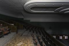 Salle Art Deco (thomaslaconis) Tags: urbex urbanexploration urbandecay urbexworld urbanexploring urbanphotography exploration explorer lost abandoned abandonedphotography abandonedplaces dusty thomaslaconis