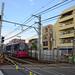 Toden 8800 Series Streetcar near Kishi-bozin-mae Station 3
