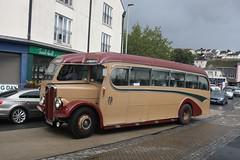 CFK340 (lazy south's travels) Tags: kingsbridge south devon england britain uk bus coach classic preserved preservation cfk340 burlingham aec regal english british