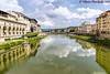 View from the Ponte Vecchio, Florence, Italy (vdwarkadas) Tags: pontevecchio oldbridge arno riverarno waterscape florence firenze italy sony sonya6000 sonyilce6000