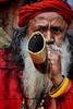 """ L A L - B A B A "" (Ayan Kumar Ghosh Photography) Tags: calcutta city child kolkata kolkataasiapeople nikon street sadhu people pilgrim passenger portrait"