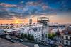 Brussels Golden Hour HDR (Alec Lux) Tags: architecture belgium bridge brussel brussels building city cityscape elevator goldenhour lights nighshot night nightscape roofs rooftops skyline street urban brusselshoofdstedelijkgewest be