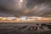 Las rocas. (Amparo Hervella) Tags: playadelportizuelo asturias españa spain nube amanecer color naturaleza roca largaexposición d7000 nikon nikond7000 comunidadespañola nwn