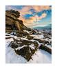 Black Tor, Dartmoor, Devon, UK (SimonHMiles) Tags: dartmoor moor heath upland rock tor granite snow cold ice winter sunset dusk sky cloud landscape