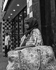 Chestnut Street, 2017 (Alan Barr) Tags: philadelphia 2017 chestnutstreet woman scarf street sp streetphotography streetphoto blackandwhite bw blackwhite mono monochrome city candid people ricoh gr