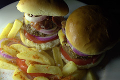 Double Cheeseburgers & Chips (Tony Worrall) Tags: double cheeseburgers chips bun burger bread fries add tag ©2017tonyworrall images photos photograff things uk england food foodie grub eat eaten taste tasty cook cooked iatethis foodporn foodpictures picturesoffood dish dishes menu plate plated made ingrediants nice flavour foodophile x yummy make tasted meal nutritional freshtaste foodstuff cuisine nourishment nutriments provisions ration refreshment store sustenance fare foodstuffs meals snacks bites chow cookery diet eatable fodder
