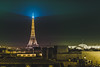 Paris (fabecollage) Tags: eiffeltower paris france europe monument nightshoot roof roofview nikon fabecollage photo photgraphy 2017 night