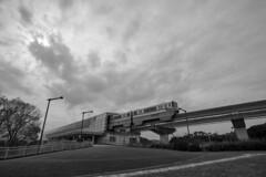 Osaka Monorail (Hideki Iba) Tags: monorail osaka japan suita 大阪 吹田 日本 nikon d850 nikond850