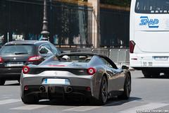 Spotting 2015 - Ferrari 458 Speciale A (Deux-Chevrons.com) Tags: ferrari 458 italia ferrari458italia 458italia ferrari458specialeaperta speciale aperta ferrari458 specialeaperta ferrari458speciale ferrari458specialea a specialea sportcar supercar gt exotic exotics france paris car coche voiture auto automobile automotive spot spotted spotting croisée rue street onroad carspotting