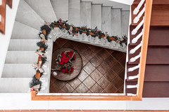 Merry Christmas house! (amcatena) Tags: house architecture christmas building wood stairs staircase decoration stairway