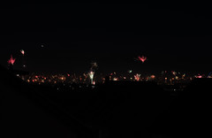 HAPPY NEW YEAR 2018 (Sven Dost) Tags: nürnberg 2017 2018 nuremberg skyline beautiful stativ red blue orange firework fireworks feuerwerk silvester midnight mitternacht happy new year sven dost nikon d750 tamron 1530mm sirui landscape