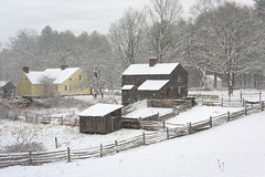 Happy New Year (Chancy Rendezvous) Tags: happynewyear 2018 happy year years new snow cold winter fences oldsturbridge sturbridge village massachusetts newengland holiday davelawler chancyrendezvous blurgasm lawler