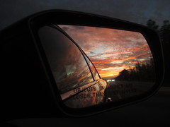 IMG_3067_Dusk_Mirror_Highway_201712 (Stephenie DeKouadio) Tags: canon photography outdoor art artwork sky sunset dusk mirror florida colorful beautiful highway clouds silhouette darkandlight dark light image imagery shadow shadows color colour night