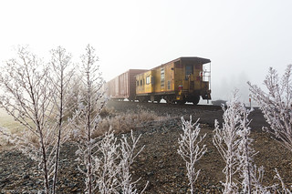 Caboose on the Northern Sub