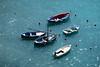 boats (alain01789) Tags: vernazza 5terre italy mediterrannee boats bateaux barques velvia bleu blue