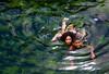 Emeralds (Ennio66) Tags: capoverde travel holiday capeverde emerald swim girl beautiful beach beauty sea crystalline boy mare colors
