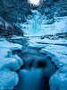 The Great Fall in the Woods (Pulver41) Tags: taughannockfalls taughannockfallsstatepark trumansburg ny newyork ithaca newyorklandscapes newyorkwaterfalls waterfall frozenwaterfall landscape winter ice snow blue nature cold river water cayugalake