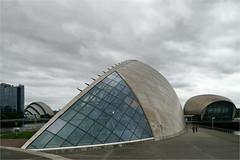 Science Centre Glasgow (herman van hulzen) Tags: hermanvanhulzen uk scotland glasgow sciencecentre imax architecture fosterpartners armadillo people explore