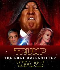 TRUMP WARS (TIHZ_HO) Tags: starwars thelastjedi trump kellyanne conway meme movie poster mueller