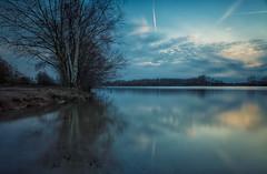 Last evening by the lake. (Erroba) Tags: deput deplas hombeek lake water longexposure leefilters bigstopper smooth erlend robaye erroba belgium belgië belgique canon 5dmarkiii