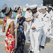USS Asheville Sailors Welcomed to Guam
