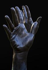 Jacob's Ladder (agxmoran) Tags: sculpture hands toronto berczypark publicart