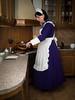 Maid Cooking (blackietv) Tags: maid dress gown purple white petticoat apron kitchen cooking tgirl transvestite crossdresser crossdressing transgender pinafore housewife