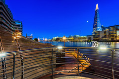 Back To Blue - The Shard, London, UK (davidgutierrez.co.uk) Tags: london photography davidgutierrezphotography city art architecture nikond810 nikon urban travel color night blue uk londonphotographer photographer skyscraper twilight bluehour colors colour colours colourful vibrant england unitedkingdom 伦敦 londyn ロンドン 런던 лондон londres londra europe beautiful cityscape davidgutierrez capital structure britain greatbritain ultrawideangle afsnikkor1424mmf28ged 1424mm d810 arts landmark attraction historic reflection iconic icon touristattraction riverthames southwark theshard shardlondonbridge
