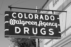 Walgreen Agency (dangr.dave) Tags: architecture coloradocity downtown historic mitchellcounty texas tx colorado drugs walgreen walgreenagency acmewiley sign chicago