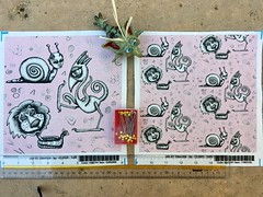 """creature monster pink tattoo art"", large and small scale fabric test swatches. My original design. Available as fabric, wallpaper and gift wrap. https://www.spoonflower.com/fabric/7075161-creature-monster-pink-tattoo-art-large-scale-by-amy_g. (sassyone2013) Tags: pink monsters creatures lion snail snake bird tentacles illustration drawing quirky weird wallpaper fabric gifts wrapping art fantasy strange animal animals tattoo pencilart wrappingpaper sewing quilting fabriccrafts sew noveltyfabric noveltyfabrics spoonflower ooak"