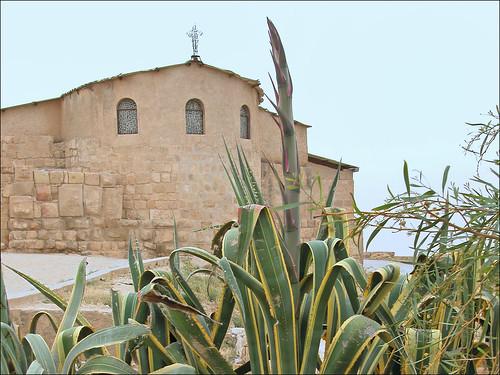 Le sanctuaire de Moïse en 2005 (Mont Nebo, Jordanie)