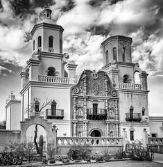 San Xavier del Bac Tucson November 15, 2012  003 (James Gordon Patterson) Tags: realestatearchitecture arizona exterior jamesgordonpatterson sanxavierdelbac tucson whitedoveofthedesert