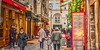 Marais Christmas (albyn.davis) Tags: holidays decoration paris france europe city urban street people shopping marais