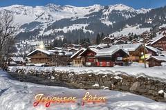 Les Diablerets, dans le canton de Vaud (CH) (Annelise LE BIAN) Tags: explore neige montagne chalets suisse coth coth5 fabuleuseenfêtesf