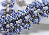 Liliana Bracelet (BeeJang - Piratchada) Tags: beadweaving beadwork beading beaded tutorial pattern patterns tutorials etsy bracelet jewelry handmade crystal crystals swarovski bicone pearl superduo