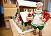 Ho ho ho Merry Christmas! (ineedathis, Everyday I get up, it's a great day!) Tags: santa baker collectible barn redbarndoors wreath bow christmastrees ladder windows farm oldmacdonaldhadafarm snowman fence snow royalicing roof icicles carrot buttons coal gingerbreadhouse2017 miniature sugarwork gumpaste modeling baking nikond750 closeup