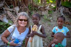 My wife at KAY PIAT Haiti (Traveller 65) Tags: haiti kaypiat childrens black poor