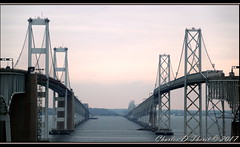 Bridging the Bay (ctofcsco) Tags: 1640 180mm canon didnotfire ef28300mmf3556lisusm eos1dxmarkii esplora evaluative explore f63 flashoff iso200 photo pic pretty renown shutterspeedpriorityae superzoom unitedstates usa sky bridge tower bay sea water 1d mark2 markii 1dx eos landscape eos1d x mark ii ef28300mm f3556l is usm canoneos1dxmarkii